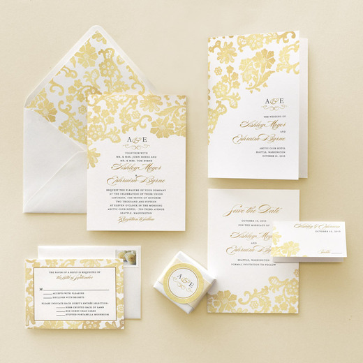 wedding invitation enclosure cards suite example