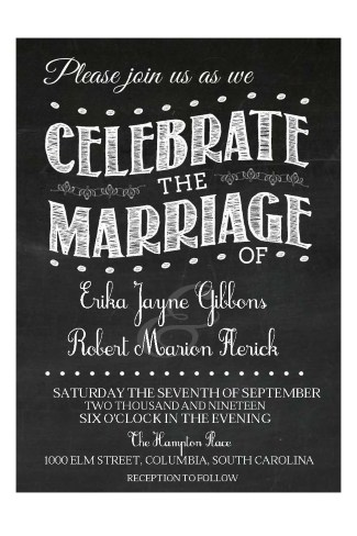 Chalkboard-Vintage-Wedding-Invitation