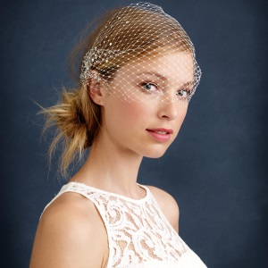 TWIGS & HONEY® RHINESTONE BIRDCAGE VEIL feature