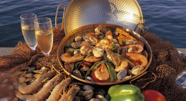 Vila Vita Parc fresh fish platter
