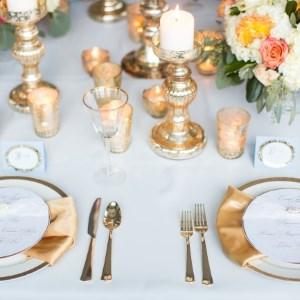 elegant styled table