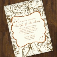 fall foliage wedding invite f