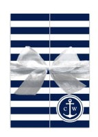 nautical anchor wedding invite from PaperStyle