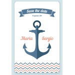 nautical sample stationery