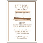 rustic sample stationery