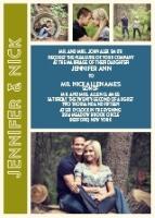 """""""the photo romance"""" invite from BasicInvite.com"""