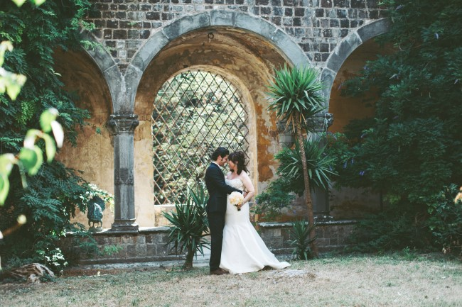 Bride and groom head to head captured by Alixann Loosle Photography