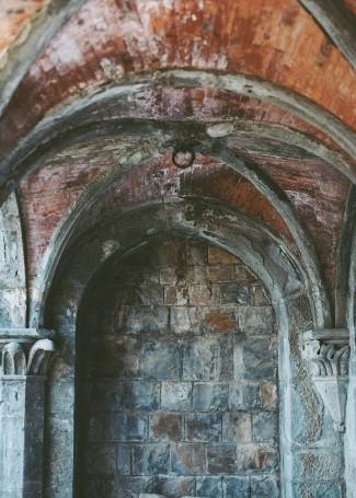 Old architecture of Castello di Vincigliata, Fiesole, Italy