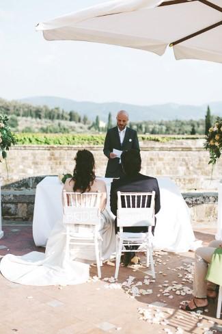 Destination wedding at Castello di Vincigliata, Fiesole, Italy