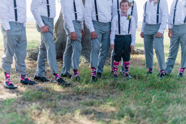 matching groomsmen argyle socks