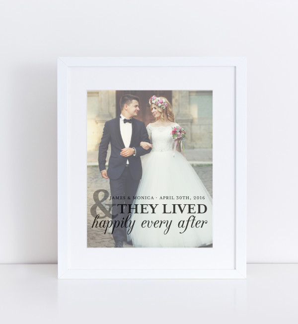 Paper Ramma Happily Ever After Photo Quote