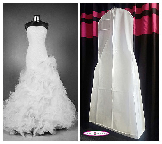 bridal garment bags to buy for your wedding day
