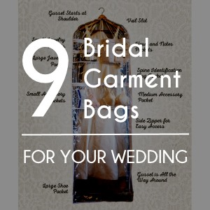 851cd75489 9 Bridal Garment Bags to Buy for your Wedding Day