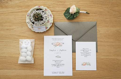 Wedding stationery by Avorio paper