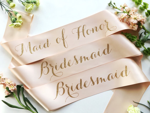 Bride to Be Sash by Shades of Pink Boutique