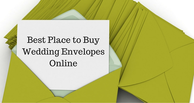 Best Place to Buy Wedding Envelopes Online