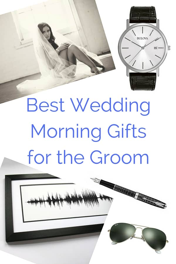 Best Wedding Morning Gifts for the Groom