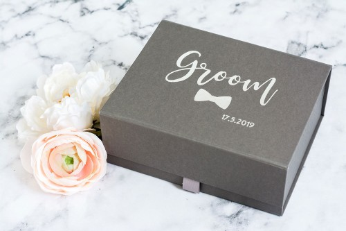 Personalised Gift Box with Wedding Date