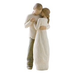 Willow Tree Promises cake topper figurine
