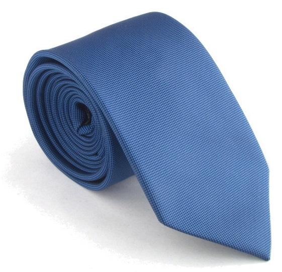 classic blue neck tie