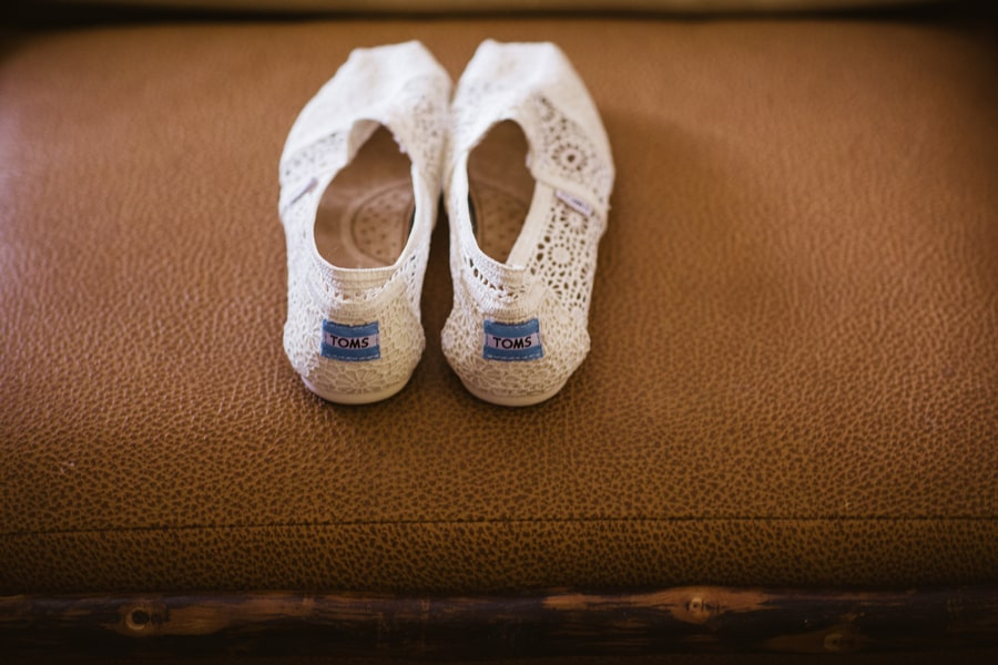 TOMS classic crochet slipon shoe