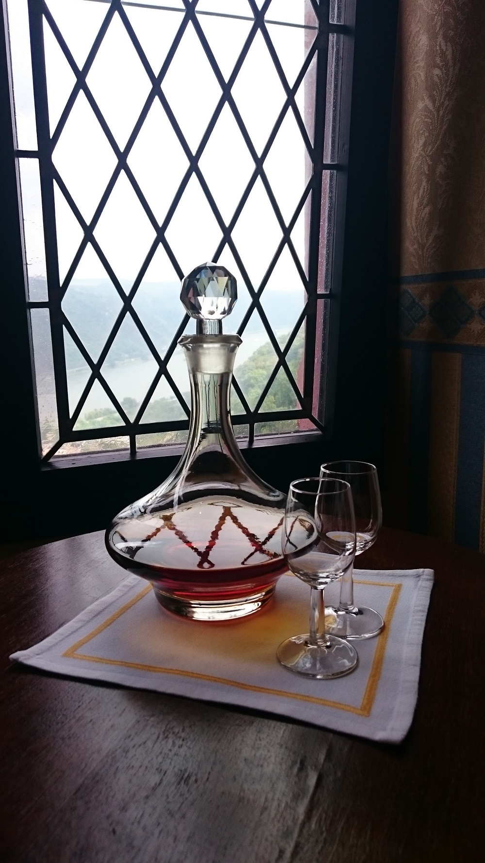sherry and crystal decanter