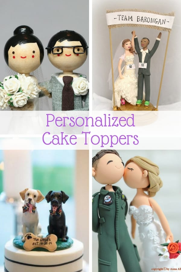 Personalized Wedding Cake Toppers Guaranteed Smiles