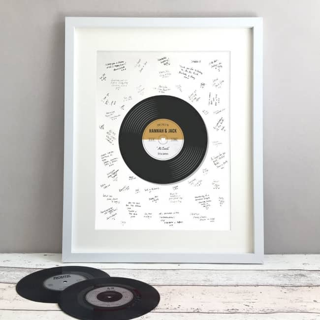 Record Wedding Guest Book
