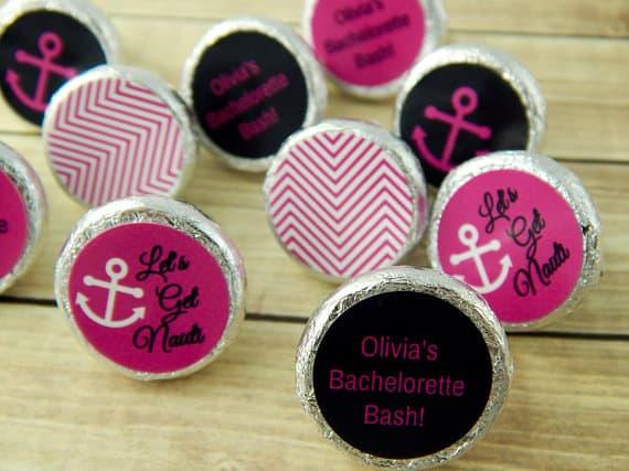 nautical Hershey® Kiss Labels