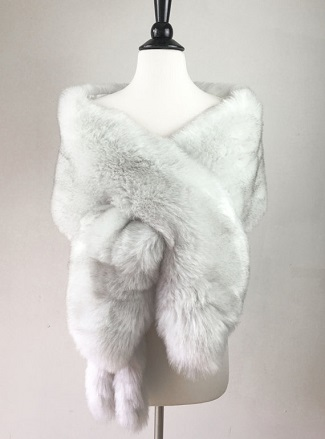 Wedding Fashion Faux Fur Wraps for Bridesmaids Brides