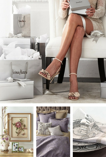 Neiman Marcus wedding registry photos