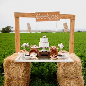 cookie-stand-at-wedding