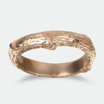 tree bark looking wedding band - Unusual Mens Wedding Rings