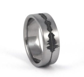 custom-titanium-soundwave-ring