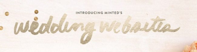 Introducing Minteds wedding websites