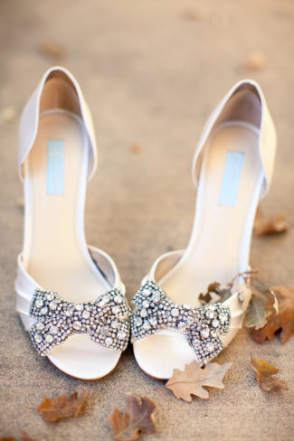 Blue by Betsy Johnson heels