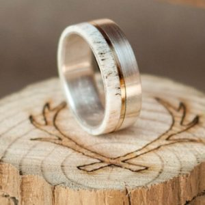 52 Stylish + Unique Mens Wedding Bands for 2020