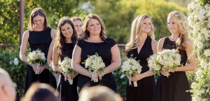 15 Black Bridesmaid Dress Styles That Scream W O
