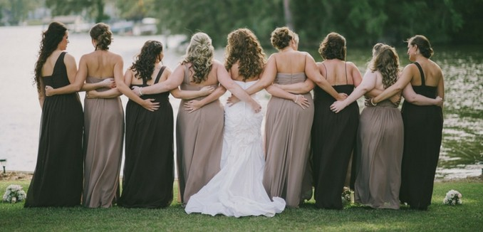 a973c7803cdea How to Choose Bridesmaid Dresses for Plus Size   Maternity