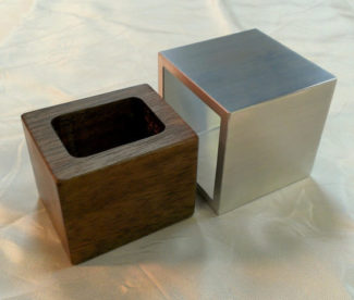 Cubed Metal and Wood Custom Engagement Ring Box ... & Wedding Upgrade Alert: 10 Luxury Ring Boxes Aboutintivar.Com