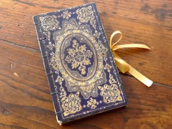 custom hollow book wedding ring box - Wedding Ring Boxes