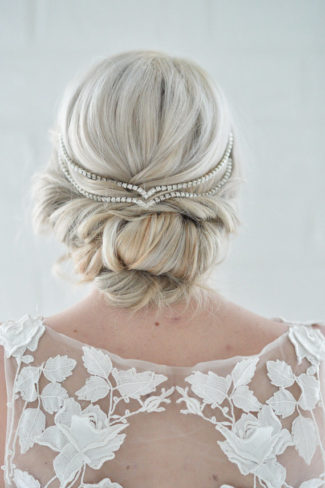 Hair Jewelry Simple Wedding Head Chain