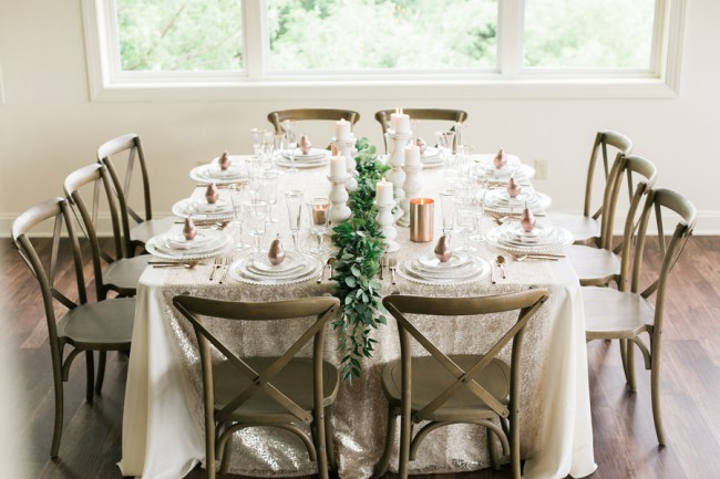styled table setting