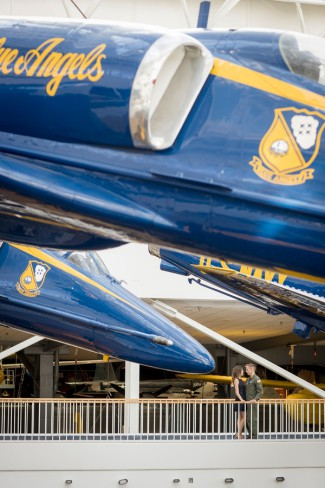 Blue Angels at Air Museum