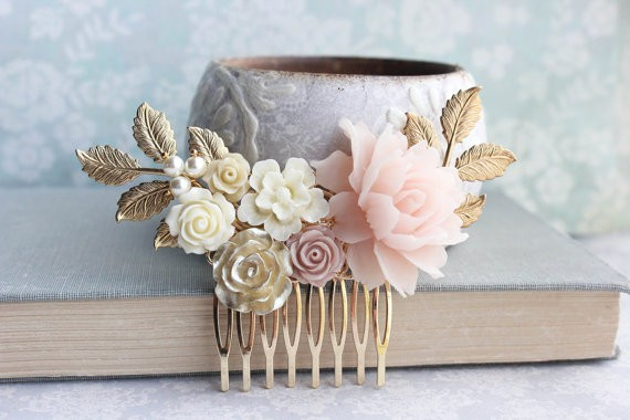 Bridal Hair Comb Vintage Style
