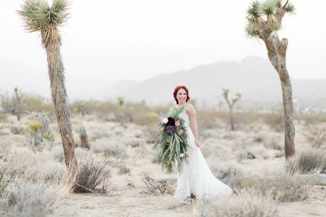 Joshua Tree styled shoot in desert