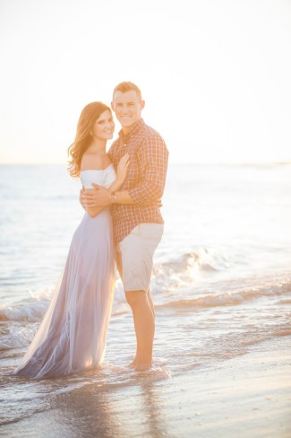 Pensacola engagement shoot couple