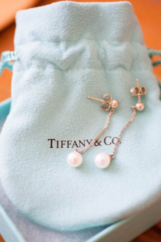 tiffany and co pearl earrings