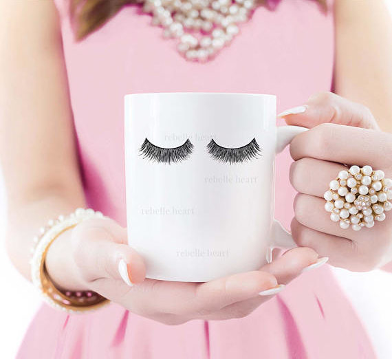 Unique coffee mug for a bridesmaids thank you gift