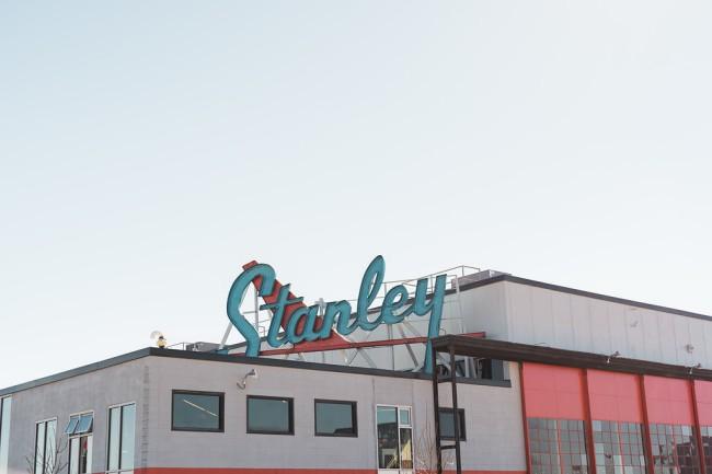 Hangar at Stanley building Colorado